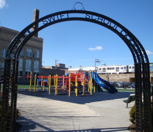 Swift Elementary School playground.