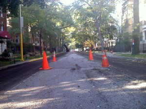 Winthrop Ave. resurfaced in 2011. Credit: Lyle Bright
