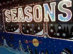 Here Comes the CTA Holiday Train