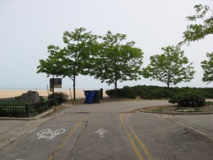 Northern Edge of Lakefront Bike Trail.  Credit: Flickr/Zol87