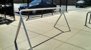 Bike rack. Credit: eco-Andersonville / Facebook