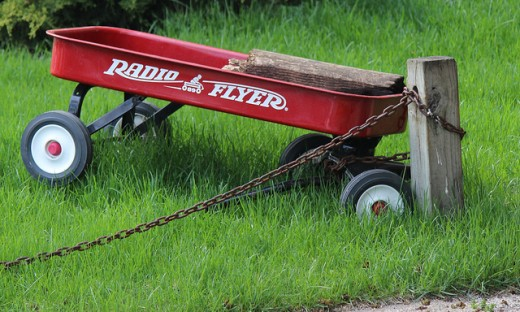 Radio Flyer. Credit: Ben Campy / Flickr