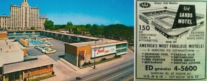 Motel postcard. Credit: EHS / Forgotten Chicago