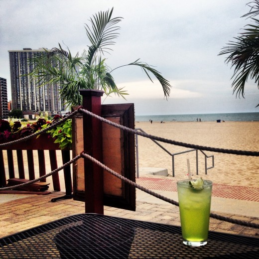 Beach margarita. Credit: Jeremy Bressman