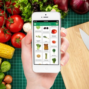 New grocery delivery app, Instacart. Credit: Instacart