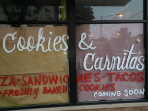 Cookies & Carnitas coming soon at 5759 N Broadway