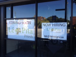 Let Pita Fresh - coming soon. Credit: Jeremy Bressman