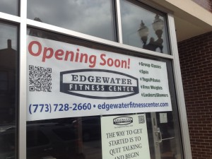 Edgewater Fitness Center - opening soon. Credit: Jeremy Bressman