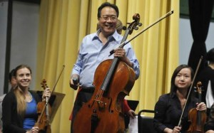 Yo-Yo Ma returning to Edgewater