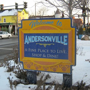 Andersonville Sign-1