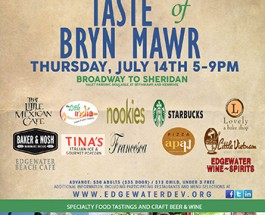 8th Annual Taste Of Bryn Mawr Tomorrow