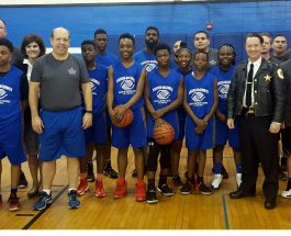Local Youth Challenge Ald. Osterman And Area Police In 2nd Annual Unity Basketball Game