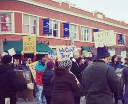 National Protests Come To Andersonville