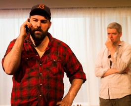 Steep's New Play Focuses On Voyeurism And Marriage