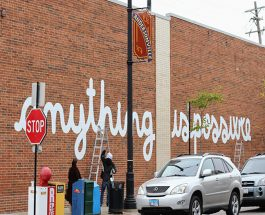 Creator Of 'You Are Beautiful' Art Installations Unveils New 80×10 ft Project On Andersonville Strip