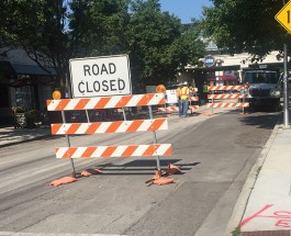 Portion Of Berwyn Ave Temporarily Closed