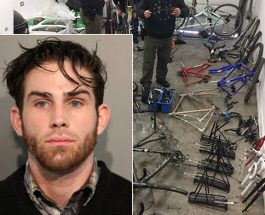 After Edgewater Man Arrested For Theft, Police Find Garage Full Of Bikes And Parts