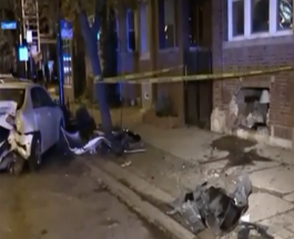 Man Crashes Car Into Vehicles And Edgewater Apartment After Police Chase
