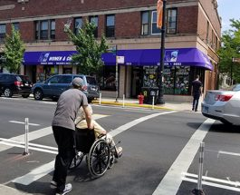 Clark Street Gets Intersection Bumpouts For Pedestrian Safety