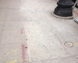 Watch Your Step! Hazardous Cuts Opened Up On Andersonville Sidewalks
