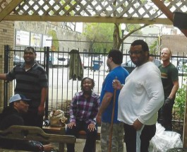 SOFO Tap And Andersonville SSA Fund New Fence For Local Autism Center