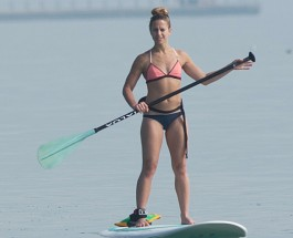 Paddle Boarding Finds Its Stride At Hollywood Beach