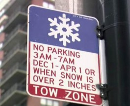 Overnight Parking Ban Took Effect This Weekend Causing Hundreds Of Cars To Be Towed