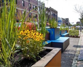 New 'People Spot' Parklets Being Installed On Andersonville Strip, Other Improvements Also Underway