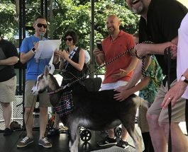 Edgewater's First Pet Mayor Is Pax The Goat, Contestants Collectively Raise $20K For Local Charity