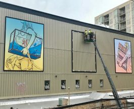 New Public Mural Overlooking Granville Celebrates Edgewater