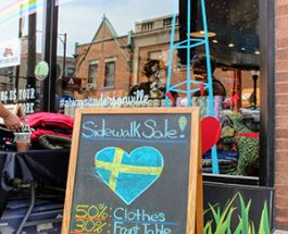 Retail Finds, Great Food And Buskers! Andersonville's Awesome Sidewalk Sale Returns