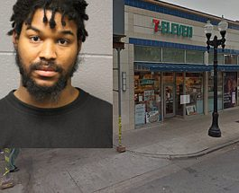 Edgewater 7-Eleven Employee Protects Woman After She Was Brutally Attacked