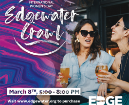 Edgewater Celebrates International Women's Day With Neighborhood Crawl