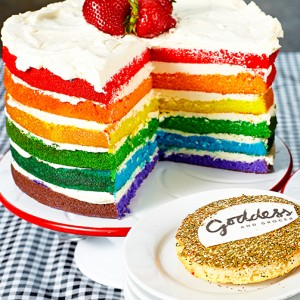Goddess And Grocer Officially Opens Today Signature Rainbow Cakes