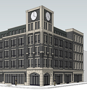 Proposed Andersonville Clock Tower Complex To Help Anchor Clark Street's Northend