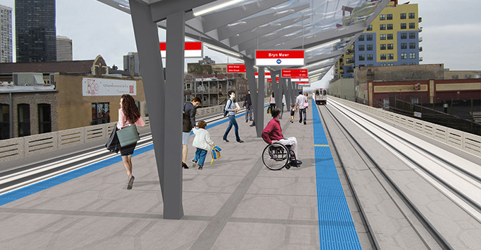 Timeline For Red/Purple Line Construction Announced, Some Stations Will Be Closed For Years