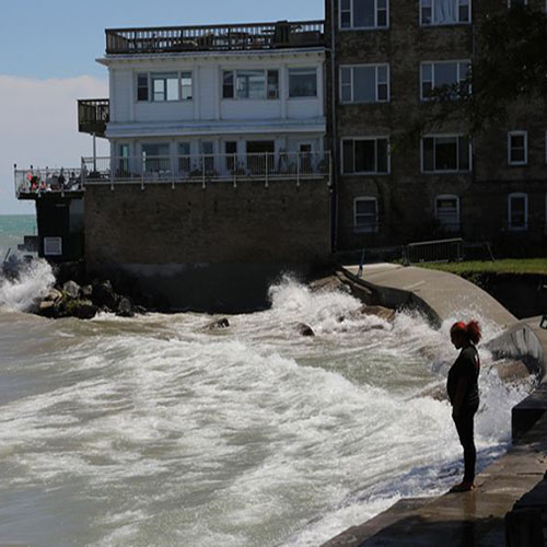 Public Meeting Will Address Substantial Local Concerns Over Rising Lake Michigan Water Levels