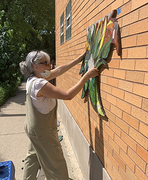 Latest Edgewater Public Art Series Brings Life To The Community