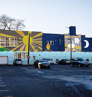 Initiative Behind Edgewater's Famous Dolly Mural Hopes To Install One Of The Area's  Largest Works