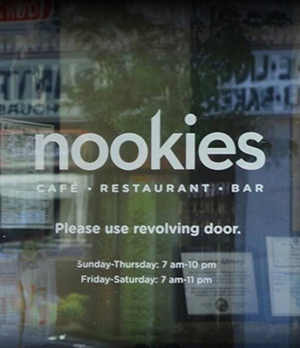 Nookies Edgewater Will Remain Permanently Closed