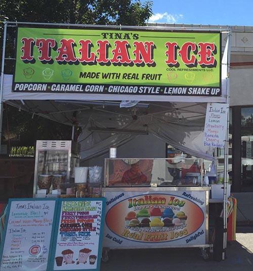 New Italian Ice Shop Opening On Bryn Mawr In Early June