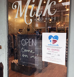 Andersonville Businesses Team Up For Valentines With 14% Of Sales Going To Charity